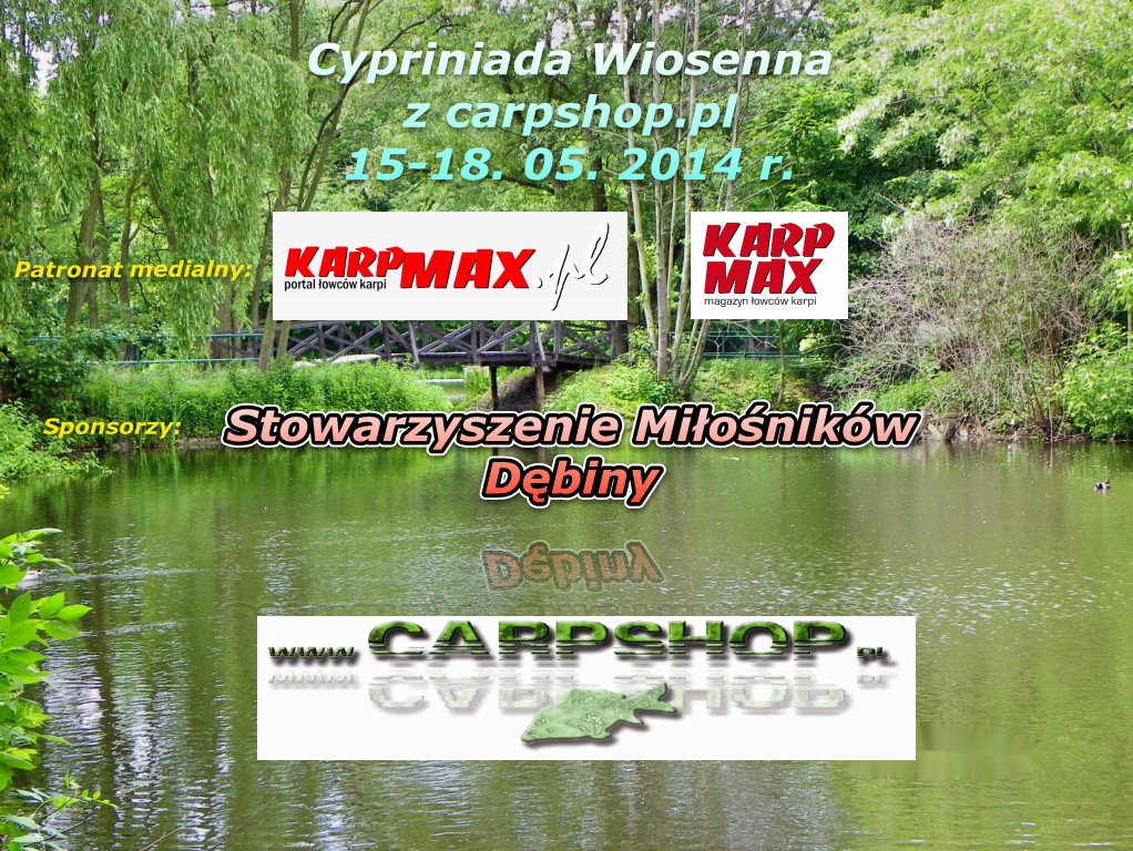 Cypriniada wiosenna z carpshop.pl